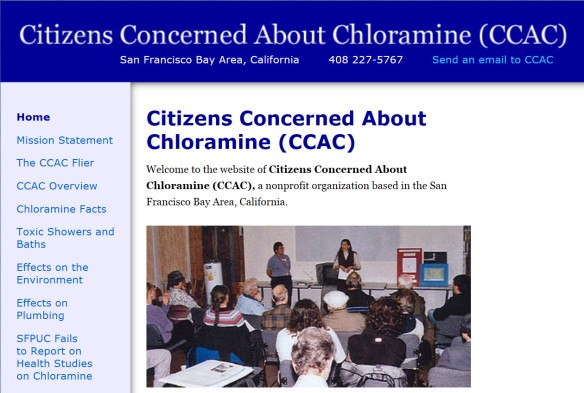 Citizens Concerned About Chloramine