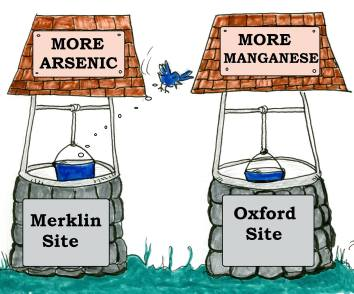 More Arsenic or More Maganese