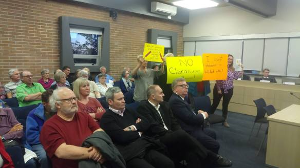 Public Upset about Chloramine on May 1st City Council Meeting