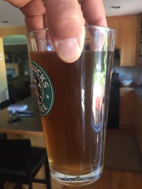 A Glass of Brown Water - Would Mayor Baldwin Drink This