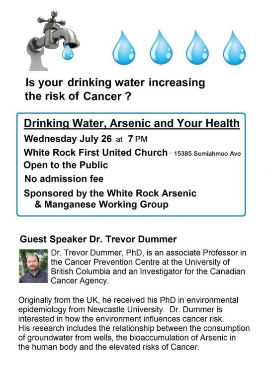 Drinking Water, Arsenic, and Cancer